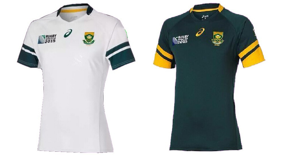 South Africa Rugby Jersey 2015 Green White South Africa Rugby