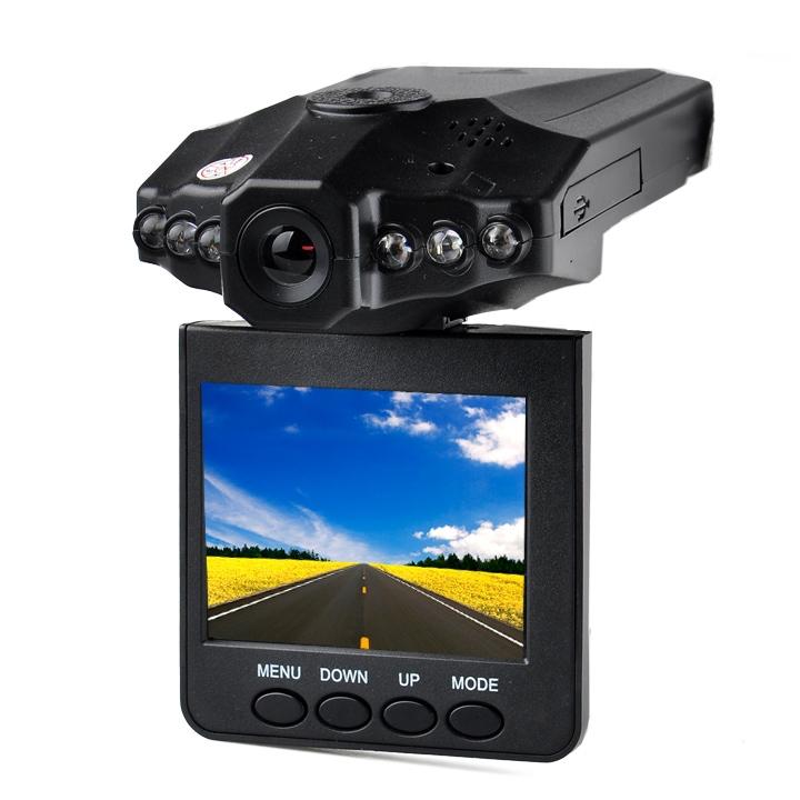 "2.5"" LCD Screen 6 LED Night Vision Vehicle Car Detector DVR Recorder 270 Degree Wide View Angle HD Car Camera Safety Guard ZYQ(China (Mainland))"