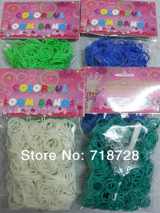 2014 DIY 60Mix Four Color Count rubber bands - Colored franchise store