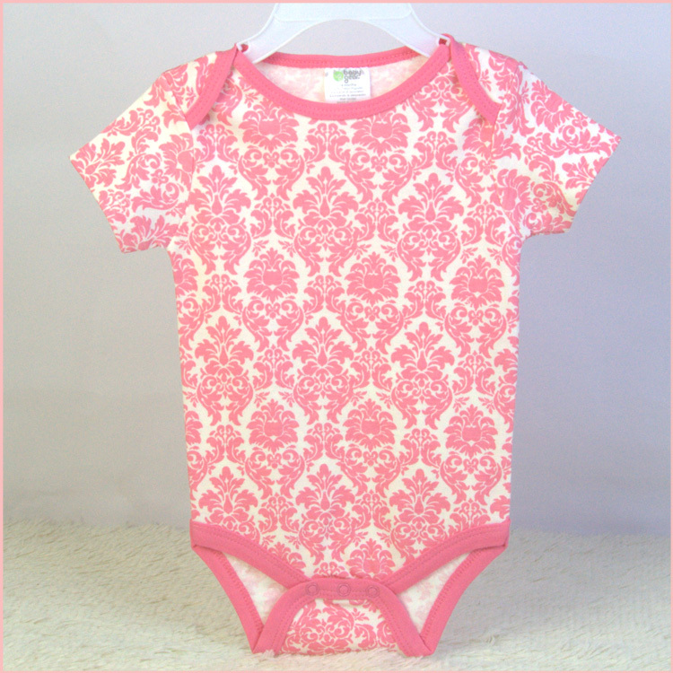 6-9M baby bodysuits short sleeve 100% cotton infant clothing summer style vests bodies jumpsuit cheap price free shipping<br><br>Aliexpress