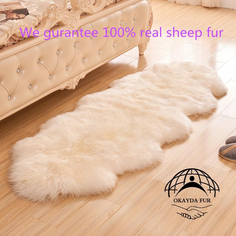 online kopen wholesale wit bont tapijt uit china wit bont. Black Bedroom Furniture Sets. Home Design Ideas