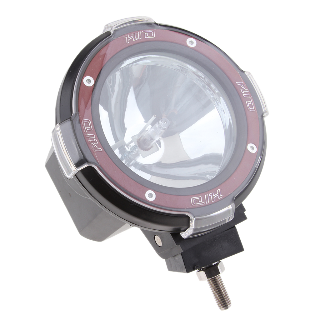 dolity Perfeclan 4\`\` 55W 12V HID Xenon Truck Flood Work Light SUV Fog Driving Lamp Black
