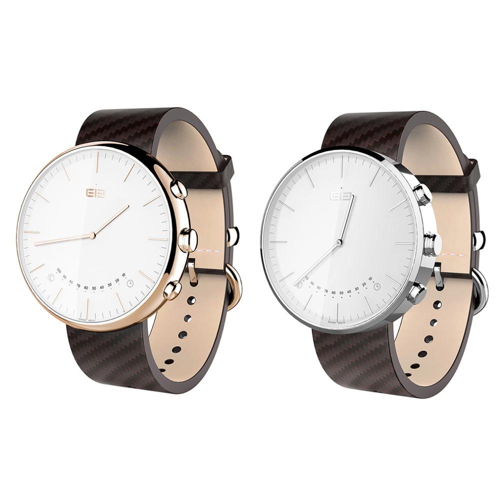 Фотография Elephone W2 Bluetooth 4.0 Smart Watch Rhonda 762 Movement Sapphire Crystal Glass IP53 Fit Tracker for smartphone