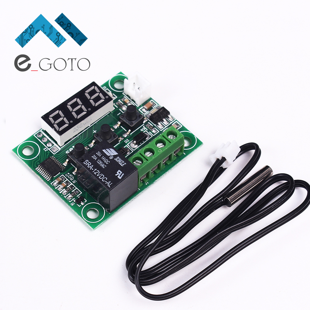 XH-W1209 Mini Digital Thermostat Temperature Controller Switch -50-110 Celsius Degree Digital LED Display High Precision(China (Mainland))