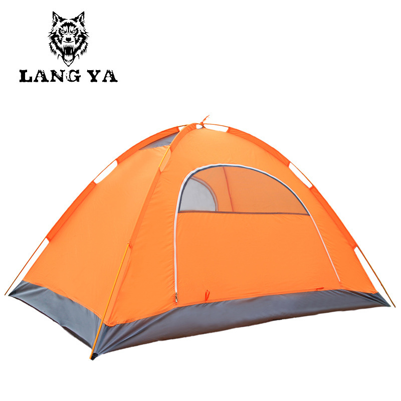 Manufacturers outdoor tent Double Double Pole Four Seasons snow camping tent with a group accept custom(China (Mainland))