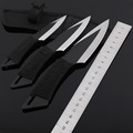 3pcs set High Quality Stainless Steel creative tool Fixed Blade Knife outdoor camping tools knife fruit