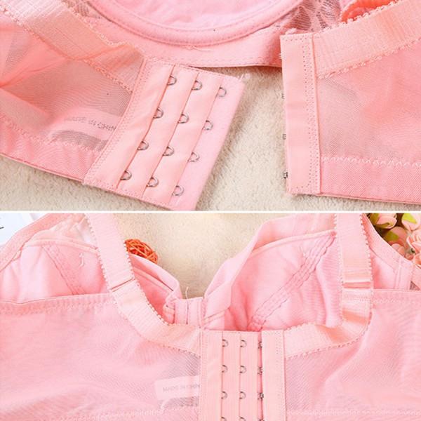 Women Lace Underwear Push Up Bra Underwire Brassiere 34 36 38 40 42 Cup Size C