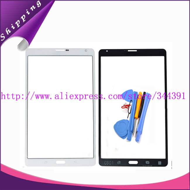 Original Front Glass Outer Lens Touch Panel for Samsung Galaxy Tab S 8.4 LTE SM-T705 T705 Replacement +Free tools free shipping<br><br>Aliexpress