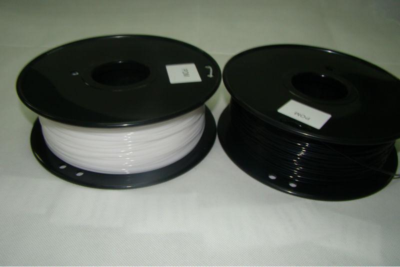 free shipping 3d printer t POM filament POM(Polyformaldehyde) 1.75mm/3mm  plastic Consumables Material MakerBot/RepRap/UP/Mendel<br><br>Aliexpress