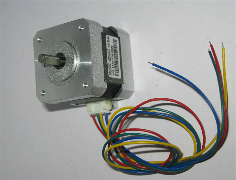 Фотография 5pcs Leadshine 42 nema17 0.22NM Hybrid stepper motor 42HS02 2ph 4 leads 0.4A L 40mm engraving milling 3D printer