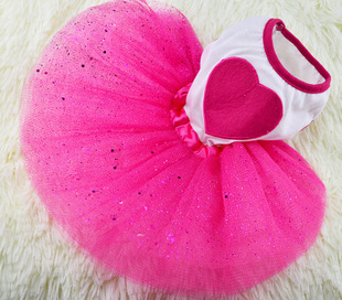 2015 New Spring and Summer Pet Dress Teddy Princess Dog Dresses Lovely Dresses For Dogs Suitable Pet Clothes Free shipping(China (Mainland))