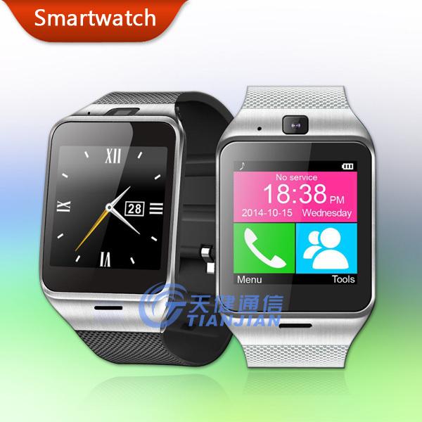 Health Sport Fitness Pedometer Camera Clock Wireless NFC Bluetooth Bracelet Touch Screen Mobile Cell Phone Wrist Smart Watch<br><br>Aliexpress