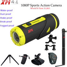 Full HD 1080P Sports Action Camera  With16GB SD Card Waterproof Shakeproof ,Foggedproof, Breakproof, Dustproof G-sensor Camera