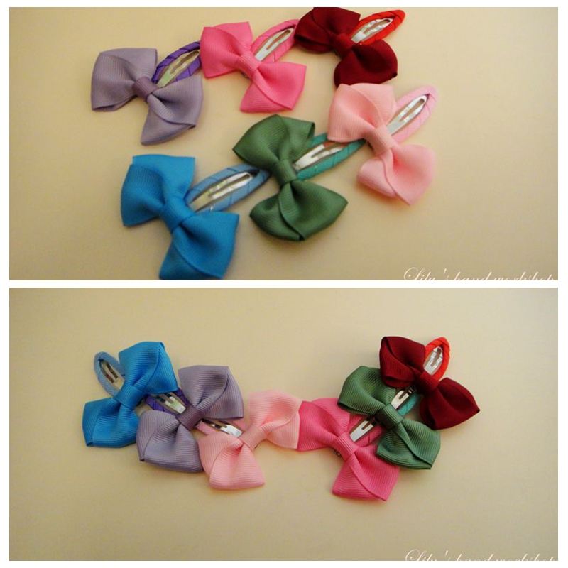 Lily hand 2015 high quality children's hair color butterfly baby hair accessories hairpin clip BB T10011(China (Mainland))