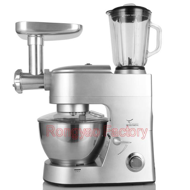 3 FUNCTION Flour Dough Blender Mixer Meat Cutter Grinder Efficiency Ice Shavers SM-168BG