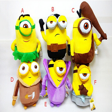 New 2015 Hot Sale 20CM Minion Plush Mcdonalds Dolls Plush Stuffed Toys Despicable me3 Minion Toys Collection Home/Car Decoration(China (Mainland))