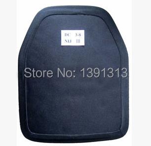 "lightest bulletproof plate,100% UHMWPE material, NIJ III+ level upgrade NIJ IIIA vest, size 10"" x12"" ,FREE SHIPPING COST(China (Mainland))"