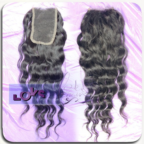 6A Virgin Brazilian Loose Wave Lace Closure Swiss Lace Closure in Size 4*4 Natural Black,Middle Part Human Hair Closure<br><br>Aliexpress
