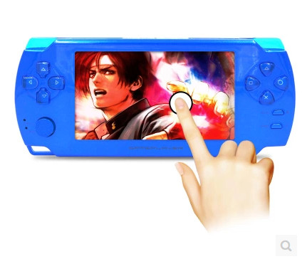 2015 New original quality X8 touchscreen PSP consoles MP5 8G support 3D arcade handheld 3D game consoles 720P MP3MP4(China (Mainland))
