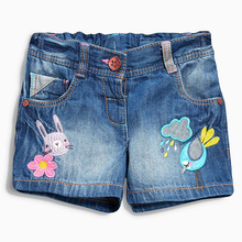Высокое качество мягкой моды дети джинсы для девочек джинсы дети тонкий короткие джинсы малышей детей брюки летние шорты(China (Mainland))