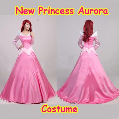 Newest Deluxe Costume Dress 2015 Adult Sleeping Beauty Costume Princess Aurora Dress Women CostumeОдежда и ак�е��уары<br><br><br>Aliexpress