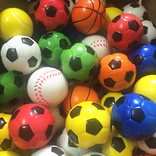 1pc Soft Antistress Balls Toy Bubble Football Soccer Ball Toys for Children Diameter 6.3 cm Tennis Basketball Baseball Bouncing(China (Mainland))