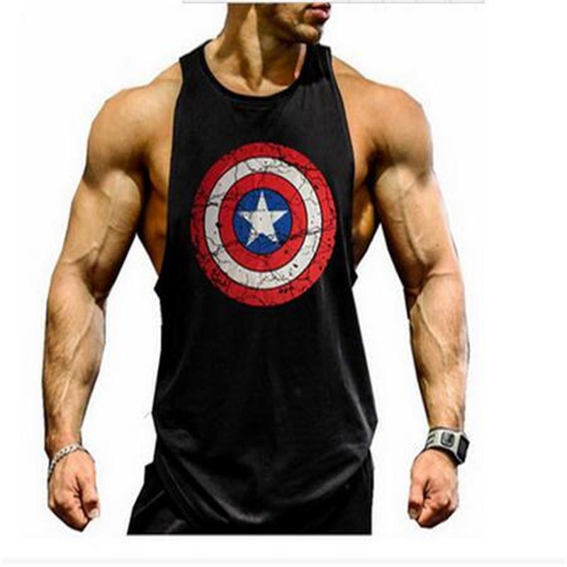 gym clothing Bodybuilding Fitness Men Tank Top Golds Gym Gorilla Wear Vest Stringer Sport Undershirt Gymshark pro combat(China (Mainland))