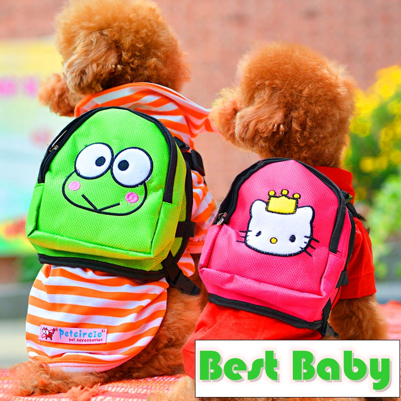 Rose Green Kitty And Frog Pet Carriers For Dogs Puppies PT156 Dachshund Yorkie Small Animals S M L Cat Bag Accessories Products(China (Mainland))