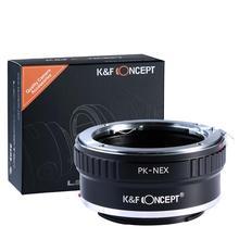 Buy Lens Mount Adapter Ring Pentax PK/K Mount Lens Sony NEX E-Mount Camera Body NEX3 NEX5 NEX5N NEX7 NEX-C3 NEX-F3 NEX3N NEX6 for $18.99 in AliExpress store