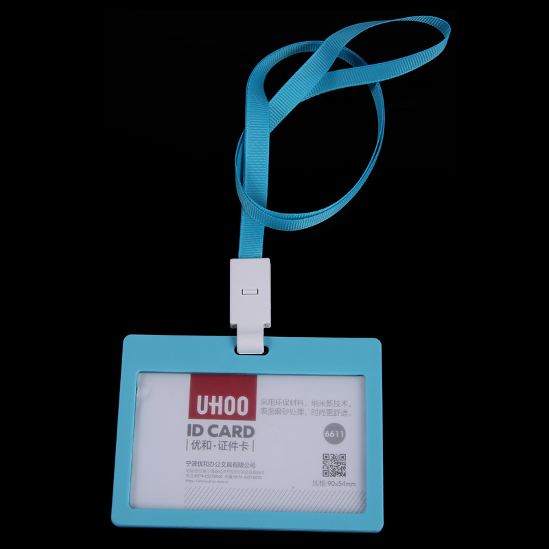 2016 women's lanyards id porte badge holder, men's holders for card and certificates, case for admission cards cover on license(China (Mainland))