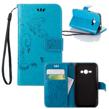 Buy Luxury Embossing PU Leather Case Samsung Galaxy J1 Ace Case j110 SM-J110F J110H Phone Cover Cases Card Slot Stand Bag for $3.40 in AliExpress store