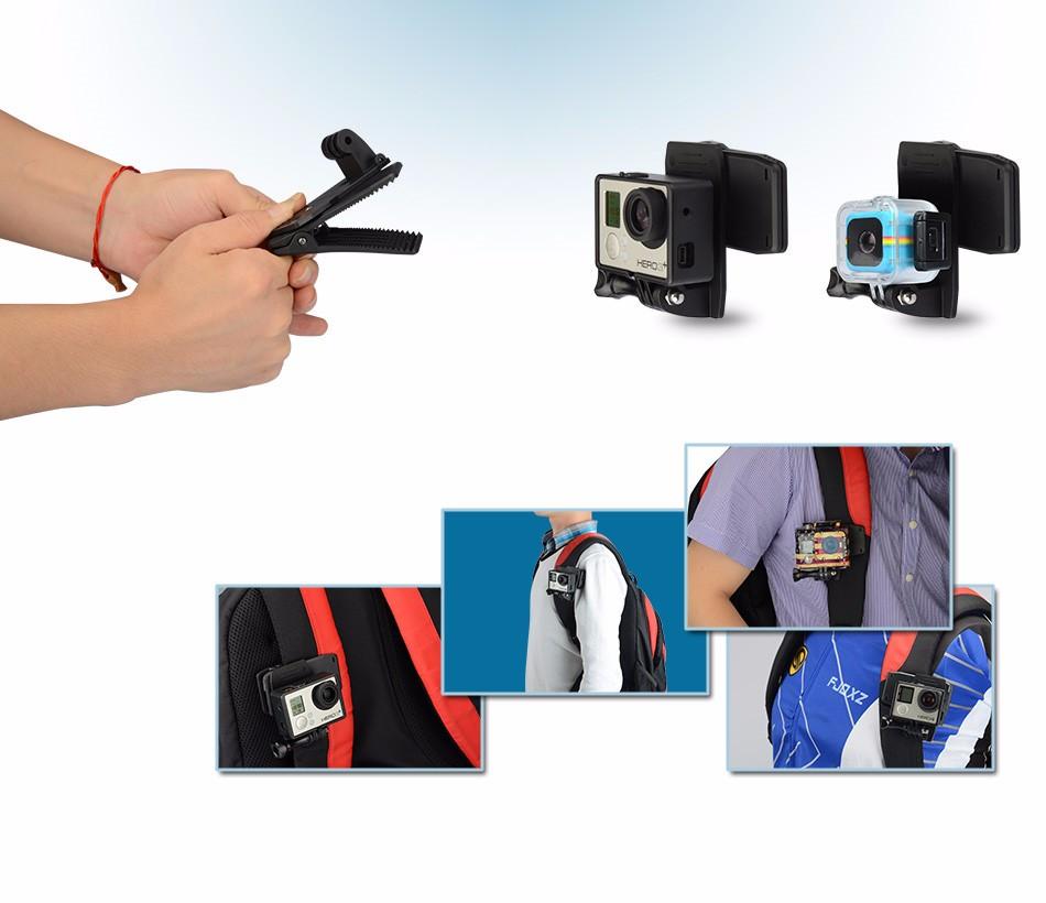 KingMa Gopro hero 5 Accessories kit for gopro hero 4 3+ 3 SJCAM M10 SJ4000 SJ5000 SJ7000 SJ9000 Xiaomi yi sjcam Accessories sets