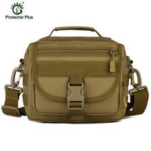 2016 New Men 1000D Nylon Military Messenger Bag Tactics Travel Hike Water Bottle Sling Day Back Pack Chest Shoulder bag(China (Mainland))