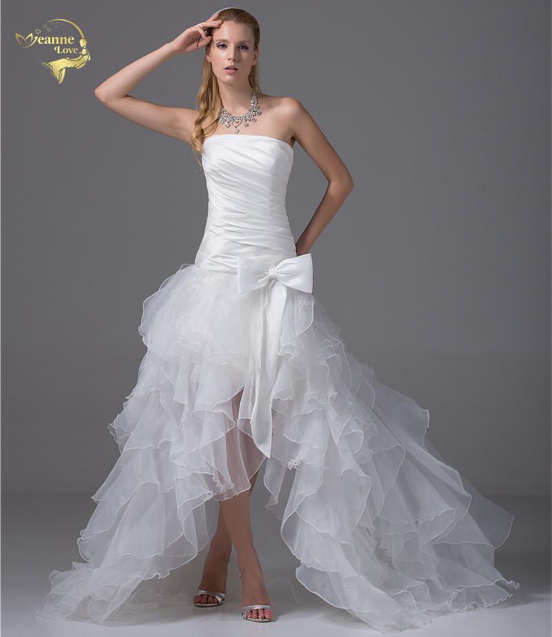 best selling strapless bridal gowns vestidos de noiva beach short