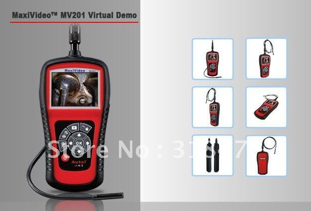 Hot Sale Digital Inspection Videoscope MV201 of High Quality Free Shipping