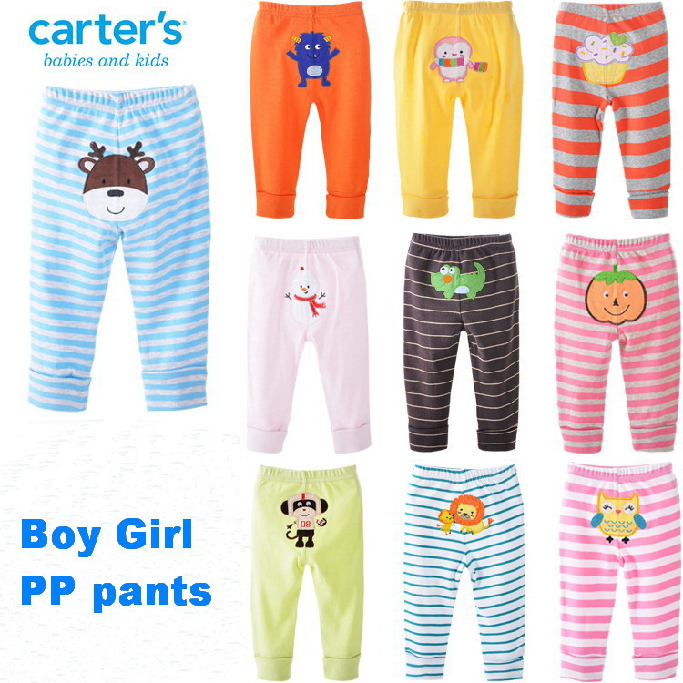 MY Boy Girl cotton baby big PP pants baby pants embroidered pants jeans winter jardineira jeans