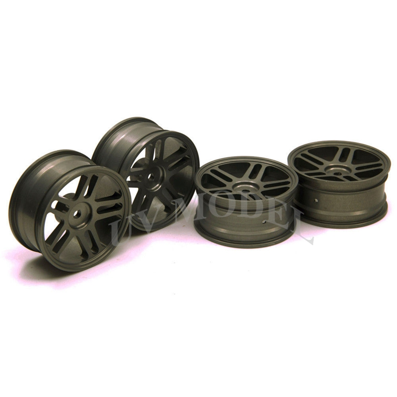 4 PCS Aluminum HSP Wheel Rim For 1/10 On-Road Drift Racing Car D3 D4 XI Titanium #3(China (Mainland))