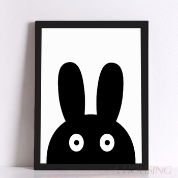 Cartoon Canvas Art Print Poster, Wall Pictures for Home Decoration, Frame not include FA285