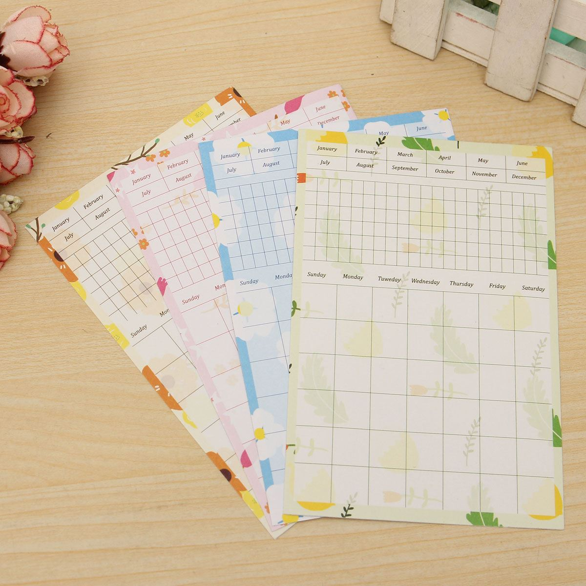 13pcs/pack Funny Style Cute Daily Planner Sticker Sticky Notes Memo Pad Schedule Organizer Check List School Office Supplies(China (Mainland))