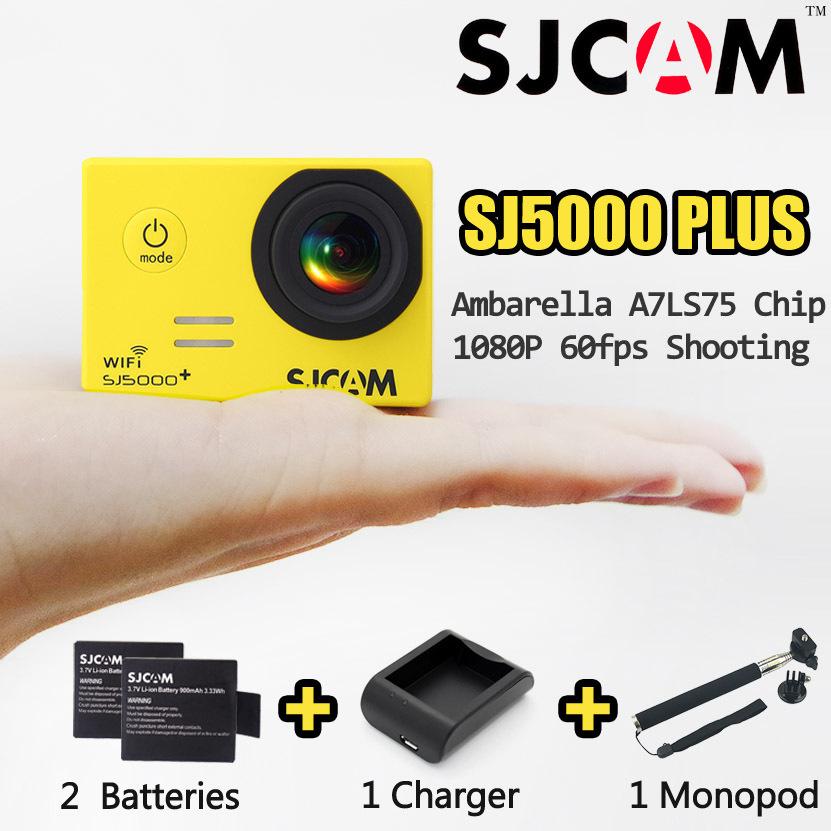 [Spain Stock]Original SJCAM Brand SJ5000 Plus WiFi 1080P 60fps Sport DV SJ5000+ Action Camera Ambarella 30M Waterproof Camcorder(China (Mainland))
