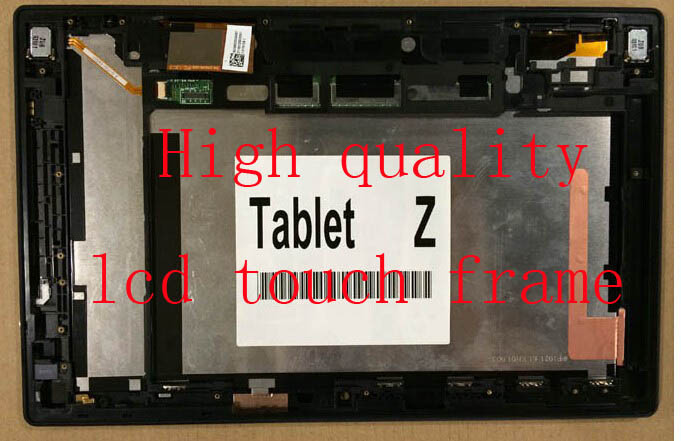 Original LCD For Sony Xperia Tablet Z SGP311 SGP312 SGP321 LCD touch screen digitizer with frame assembly repair panel black