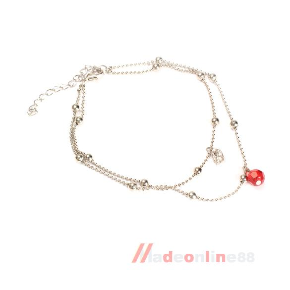 Elegant Exquisite Anklets Bracelet Bangle Mini Swan Pendant Fashion M3AO(China (Mainland))