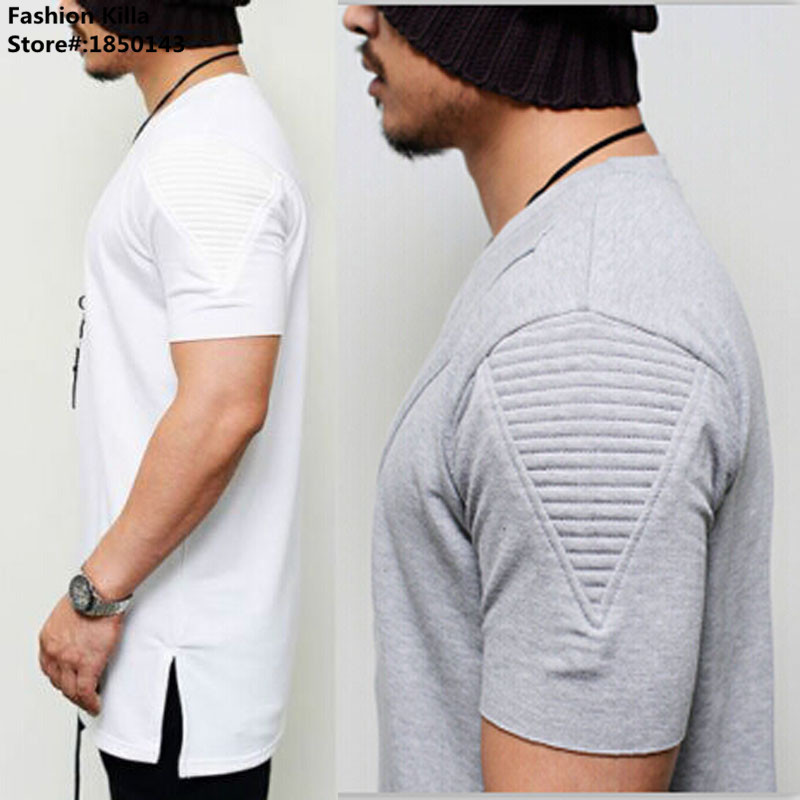 Online buy wholesale mens extra long t shirts from china for Shirts for men with long arms