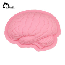 New Arrival Halloween Brain Shape Silicone Cake Mould Chocolate Soap Molds Kitchen Accessories Baking Tools