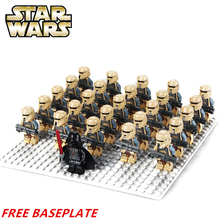 2Imperial Death Trooper SW795 + Darth Vader STAR WARS Storm Minifigures Model DIY Building Blocks Kids Toys Gifts - MiniFigures Store store