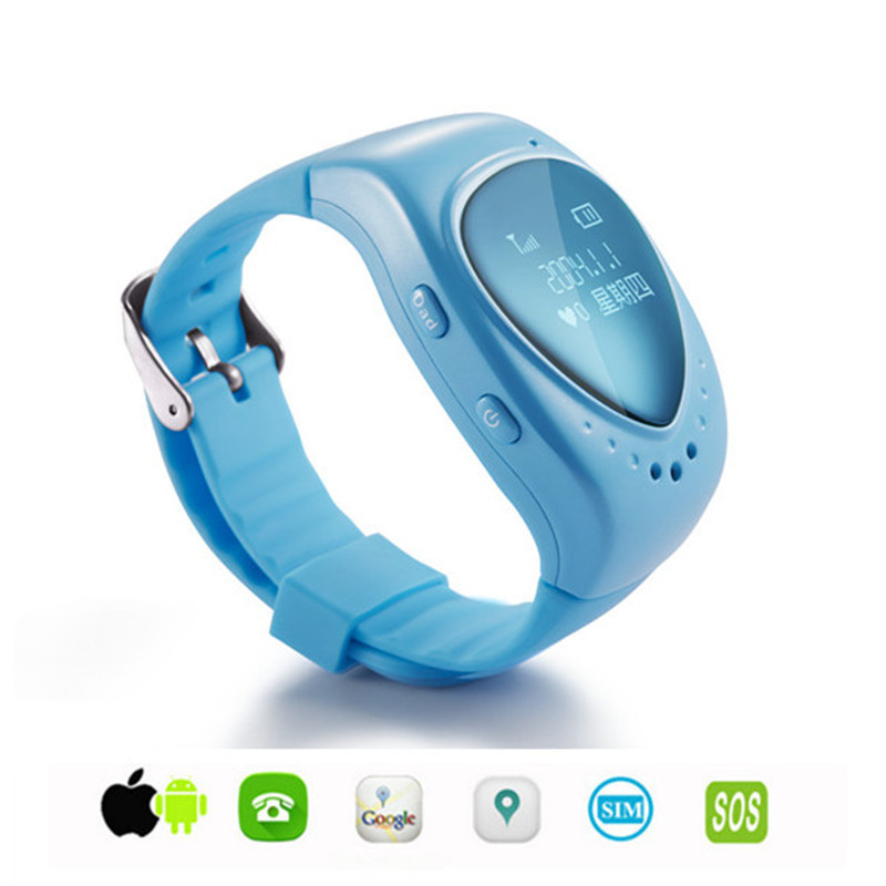 LEKEMI GPS tracking tracker watch phone for kids child children gps bracelet google map, sos button, free apps gsm gps locator(China (Mainland))