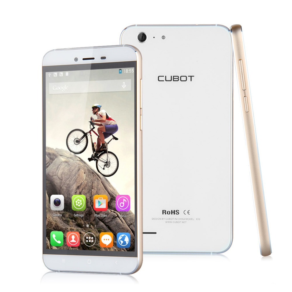 Waterproof CUBOT X10 IP65 5.5 inch MTK6592M 1.4GHz Octa Core Dual SIM Android 4.4 2GB 16GB Mobile Phone IPS OGS HD 13MP 8MP(China (Mainland))
