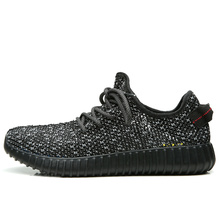CATPT Mixed Color Fly Fabric Rubber Sole Men Leisure Shoes Yeezy 350 Boost Breathable and Comfortable Man Casual Shoes PT8801(China (Mainland))