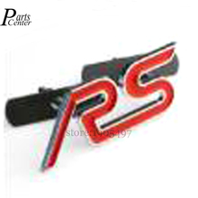S ST RS Chrome Metal Refitting Styling Car Emblem Badge Auto Exterior Decal 3D Sticker Grille FORD Focus Mondeo - Parts Center LTD. store
