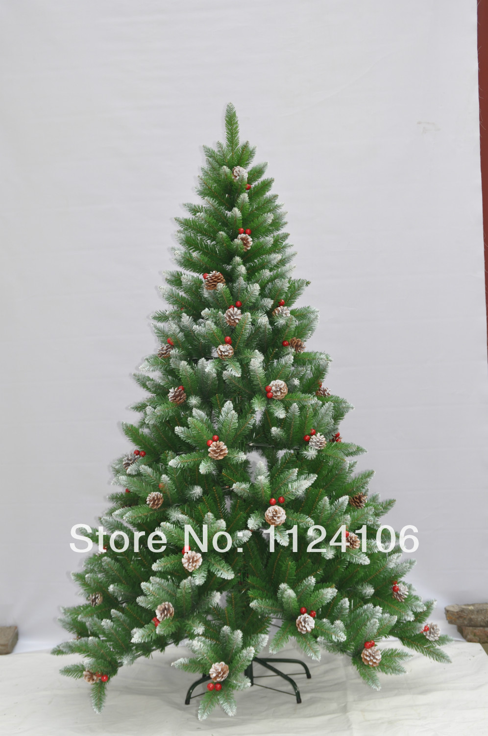 Top Selling Europe and United States Fashion ROHS Christmas tree 150cm xmas tree with snow and cone supplier home Decoration(China (Mainland))